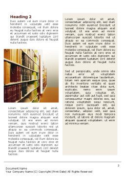 Library Book Shelves Word Template, Second Inner Page, 02303, Education & Training — PoweredTemplate.com