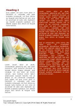 Urgent Surgical Help Word Template, Second Inner Page, 02324, Medical — PoweredTemplate.com
