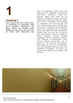 Hotel Word Template, First Inner Page, 02330, Careers/Industry — PoweredTemplate.com