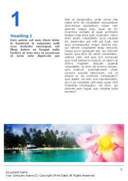 Spa Resort Word Template, First Inner Page, 02340, Nature & Environment — PoweredTemplate.com