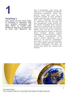 Define Travel Direction Word Template First Inner Page