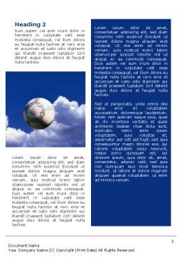Head In Soccer Word Template, Second Inner Page, 02365, Sports — PoweredTemplate.com