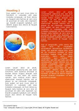 Cities Word Template Second Inner Page