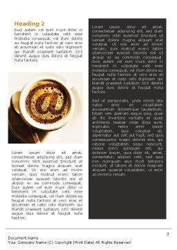 Internet Cafe Word Template, Second Inner Page, 02370, Technology, Science & Computers — PoweredTemplate.com