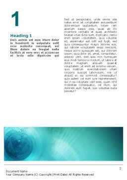 World Business Review Word Template First Inner Page