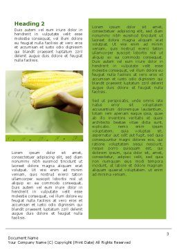 Agronomy and Genetics Word Template, Second Inner Page, 02394, Technology, Science & Computers — PoweredTemplate.com