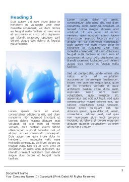 Night Club Dancing Word Template Second Inner Page