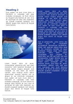 Building Company Word Template, Second Inner Page, 02402, Construction — PoweredTemplate.com