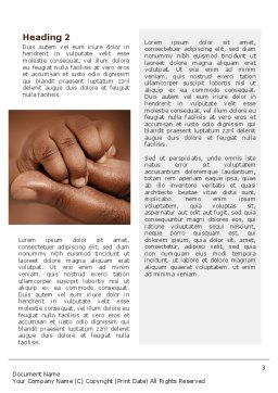 Baby Fingers Word Template, Second Inner Page, 02409, People — PoweredTemplate.com