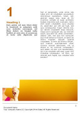 Confidential Word Template, First Inner Page, 02554, Consulting — PoweredTemplate.com