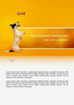 Pet Word Template, Cover Page, 02559, Business Concepts — PoweredTemplate.com