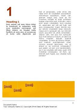 Pet Word Template, First Inner Page, 02559, Business Concepts — PoweredTemplate.com