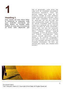 Dream Land Word Template, First Inner Page, 02566, Business — PoweredTemplate.com
