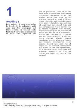 Thinking Word Template, First Inner Page, 02571, Consulting — PoweredTemplate.com