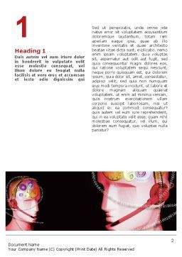 Mechanic Head Word Template, First Inner Page, 02579, Technology, Science & Computers — PoweredTemplate.com