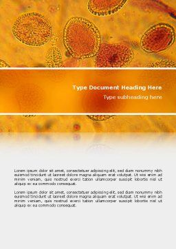Cytology Word Template, Cover Page, 02595, Medical — PoweredTemplate.com
