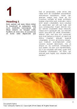 Solar Flare Word Template, First Inner Page, 02606, Technology, Science & Computers — PoweredTemplate.com