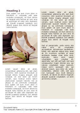 Holistic Medicine Word Template Second Inner Page