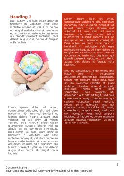 Multinational Word Template Second Inner Page