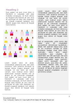 Perfume Word Template, Second Inner Page, 02643, Careers/Industry — PoweredTemplate.com