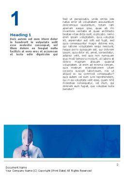 Swordplay Word Template, First Inner Page, 02650, Sports — PoweredTemplate.com