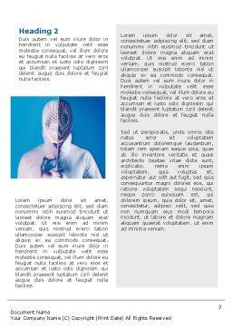 Swordplay Word Template, Second Inner Page, 02650, Sports — PoweredTemplate.com