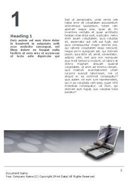 Information Security Word Template, First Inner Page, 02673, Technology, Science & Computers — PoweredTemplate.com