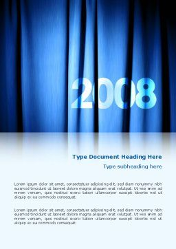 Year 2011 Word Template, Cover Page, 02679, Holiday/Special Occasion — PoweredTemplate.com