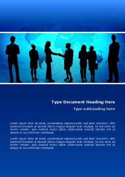 Contracting People Word Template Cover Page