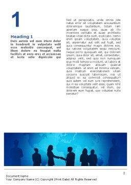 Contracting People Word Template First Inner Page