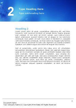 Preacher Word Template, Second Inner Page, 02719, Religious/Spiritual — PoweredTemplate.com