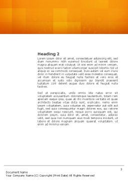 Mind Game Word Template Second Inner Page