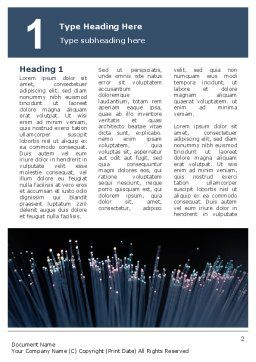 Optic Fiber Word Template First Inner Page