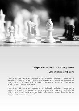 Strategic Position Word Template, Cover Page, 02755, Sports — PoweredTemplate.com