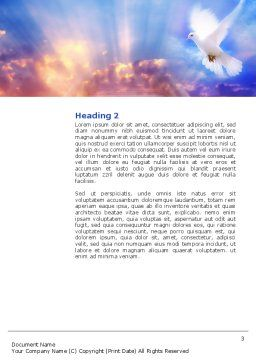 Holy Benediction Word Template, Second Inner Page, 02764, Religious/Spiritual — PoweredTemplate.com