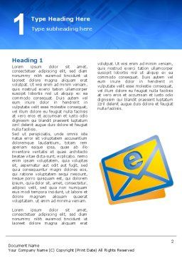 E-mail Word Template First Inner Page