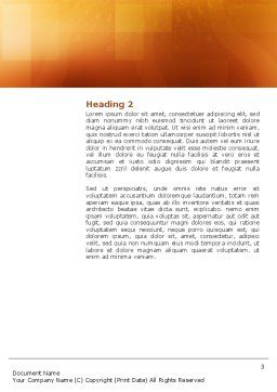 Office Canteen Word Template, Second Inner Page, 02798, Construction — PoweredTemplate.com