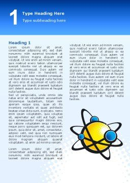 Atom Word Template First Inner Page