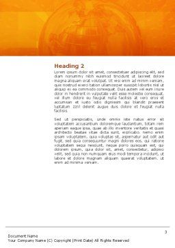 Personnel Word Template, Second Inner Page, 02805, Consulting — PoweredTemplate.com