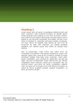 Salad Word Template, Second Inner Page, 02807, Food & Beverage — PoweredTemplate.com