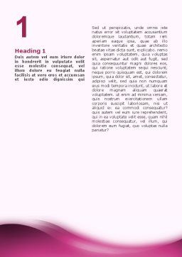 Modern Interior Design Word Template, First Inner Page, 02808, Construction — PoweredTemplate.com