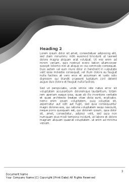 Brainstorm Word Template, Second Inner Page, 02856, Business Concepts — PoweredTemplate.com