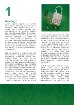 Shopping Cart With White Bag Word Template, First Inner Page, 02878, Careers/Industry — PoweredTemplate.com