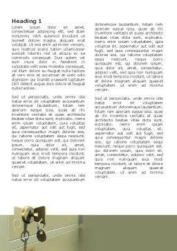 Locker Word Template, First Inner Page, 02883, 3D — PoweredTemplate.com