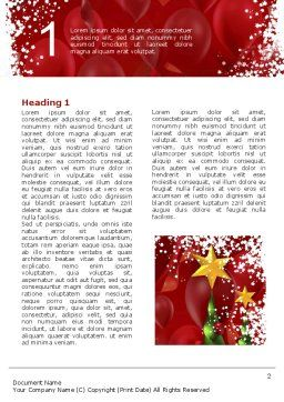 New Year Celebration Word Template First Inner Page