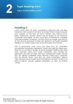 House Building Word Template, Second Inner Page, 02955, Construction — PoweredTemplate.com