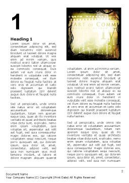 Typography Word Template First Inner Page