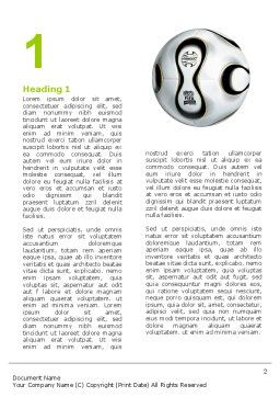 FIFA Word Template, First Inner Page, 03090, Sports — PoweredTemplate.com
