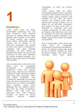 Family Care Word Template, First Inner Page, 03094, Consulting — PoweredTemplate.com