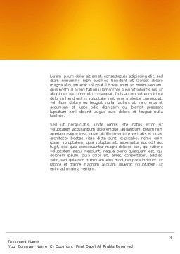 Career Rising Word Template Second Inner Page